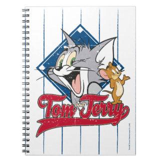 Tom und Jerry   Tom und Jerry auf Notizblock