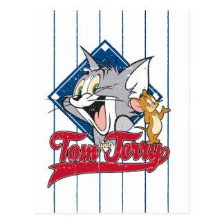 Tom und Jerry | Tom und Jerry auf Postkarte