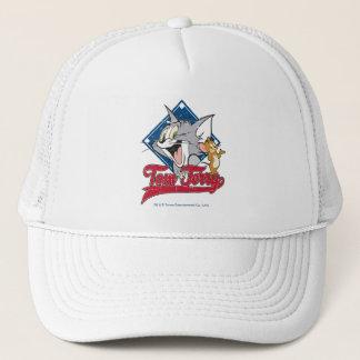 Tom und Jerry | Tom und Jerry auf Truckerkappe