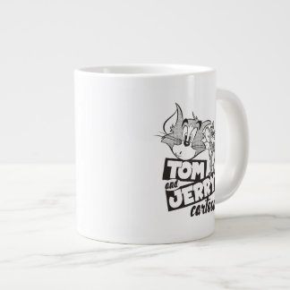 Tom und Jerry | Tom und Jerry-Cartoon Jumbo-Tasse