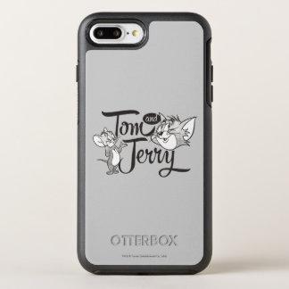 Tom und Jerry | Tom und Jerry, der süß schaut OtterBox Symmetry iPhone 8 Plus/7 Plus Hülle