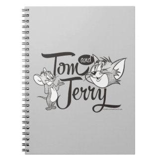 Tom und Jerry   Tom und Jerry, der süß schaut Spiral Notizblock