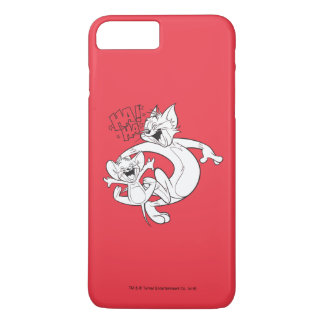 Tom und Jerry | Tom und Jerry-Lachen iPhone 8 Plus/7 Plus Hülle