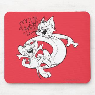 Tom und Jerry   Tom und Jerry-Lachen Mousepad