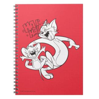 Tom und Jerry   Tom und Jerry-Lachen Notizblock