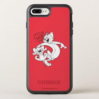 Tom und Jerry | Tom und Jerry-Lachen OtterBox Symmetry iPhone 8 Plus/7 Plus Hülle
