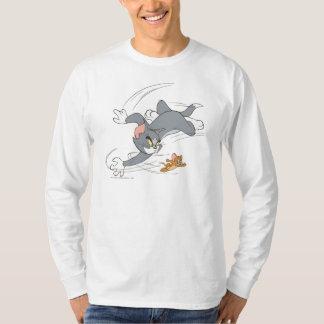Tom- und Jerry-Verfolgungs-Drehung T-Shirt