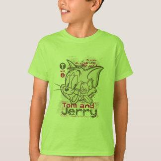 Tom und Jerryrosa und -GRÜN T-Shirt