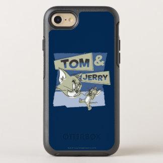 Tom- und JerryScaredey Maus OtterBox Symmetry iPhone 8/7 Hülle