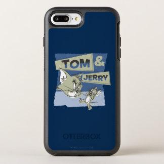 Tom- und JerryScaredey Maus OtterBox Symmetry iPhone 8 Plus/7 Plus Hülle