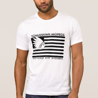 Tomahawk-Amerikaner-Fahne T-Shirt