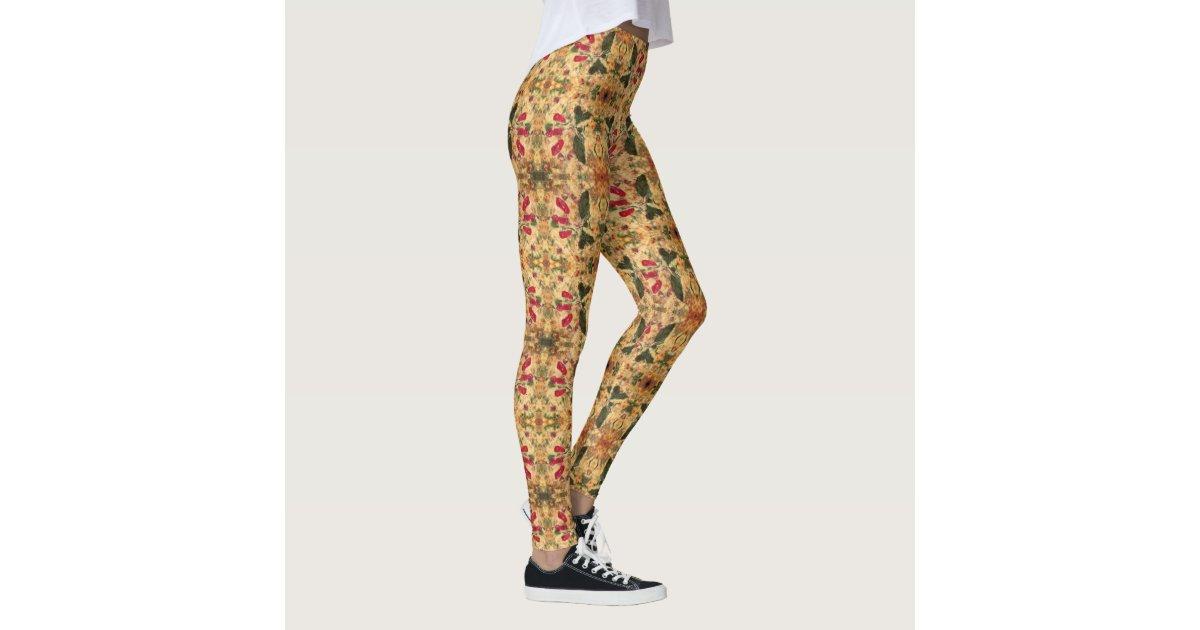tomate basilikum und mais quiche gamaschen leggings zazzle. Black Bedroom Furniture Sets. Home Design Ideas