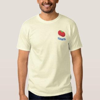 Tomate Besticktes T-Shirt
