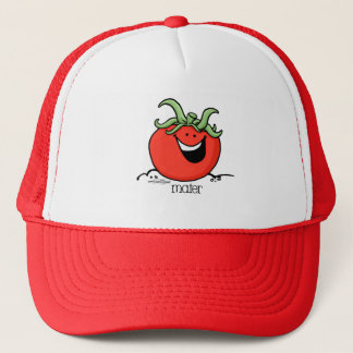 Tomate-Cartoon - Veggiehut Truckerkappe