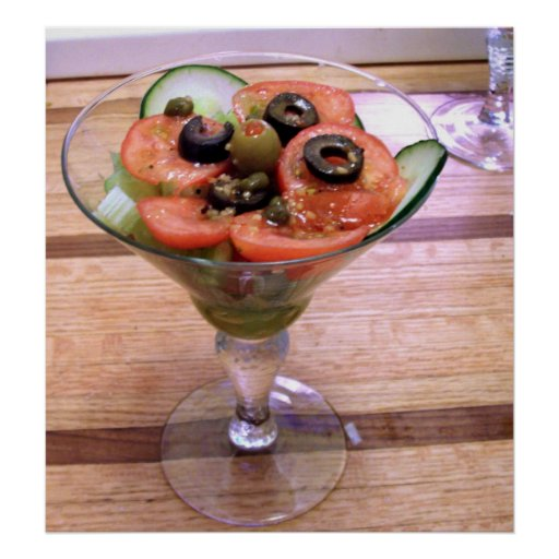 Tomate-Cocktail-Salat Plakatdrucke