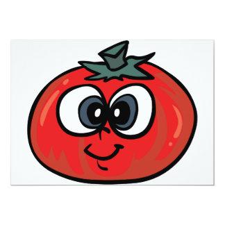 Tomate-Gesichts-Einladungen 12,7 X 17,8 Cm Einladungskarte