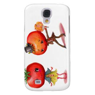 Tomate-kitschy niedliche Paar-Küche Galaxy S4 Hülle