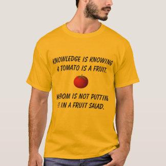 Tomate-Klugheits-Shirt T-Shirt