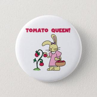 Tomate-Königin Runder Button 5,1 Cm