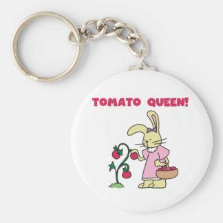 Tomate-Königin Schlüsselanhänger