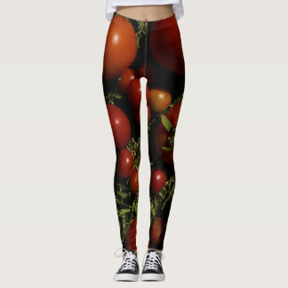 Tomate-Obsessions-reife Gamaschen Leggings