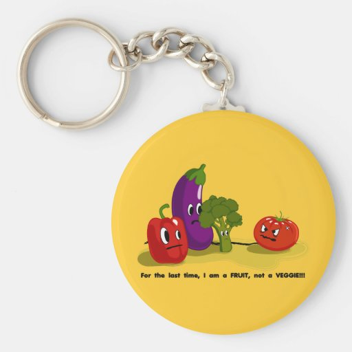 Tomate-Spaß Schlüsselanhänger