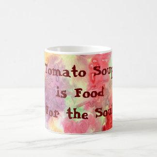 Tomate-Suppe ist Nahrung für das Soul Verwandlungstasse