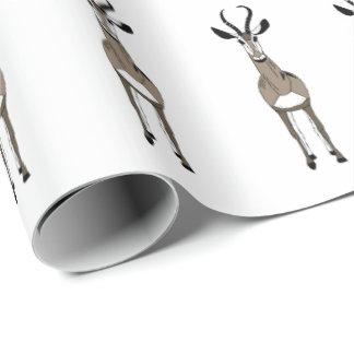 Tommy die Gazelle Geschenkpapier