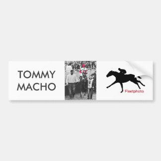 Tommy MachoLuis Saez Autoaufkleber