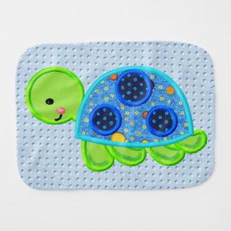 Tommy-Schildkröte-Spaß-Babyburp-Stoff Spucktuch