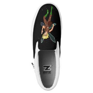 Tommy-Stümper Zipz Beleg auf Schuhen Slip-On Sneaker