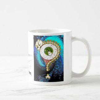 TOMSAC Grafiken - AUGEN-BALL-FRAGEZEICHEN Kaffeetasse