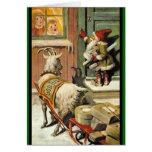 Tomte Nisse, alias Weihnachtsmann Karten