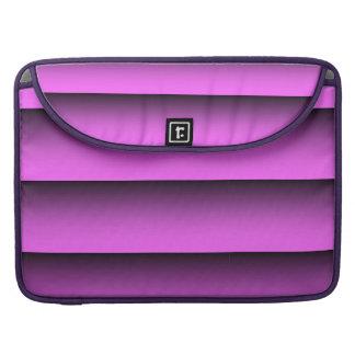 Ton der Ebenen-zwei rosa Macbook Prohülse Sleeve Für MacBook Pro