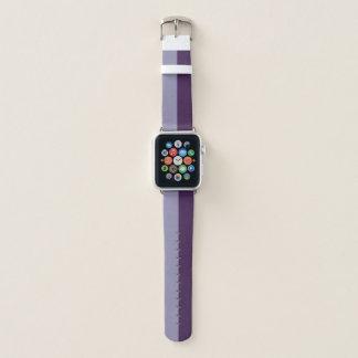 Ton zwei - lila apple watch armband