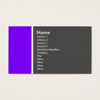 Ton zwei (violett und grau) - besonders visitenkarte