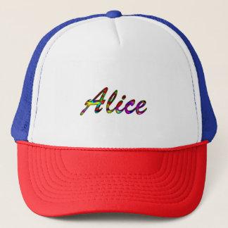 Töne Alices zwei Fernlastfahrer-Hut Truckerkappe