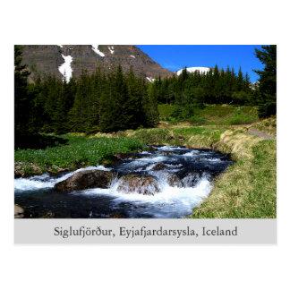 Töne der Naturpostkarte Postkarte