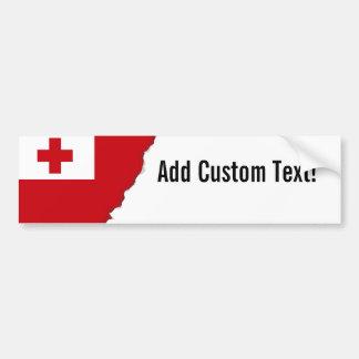 Tonga-Flagge Autoaufkleber