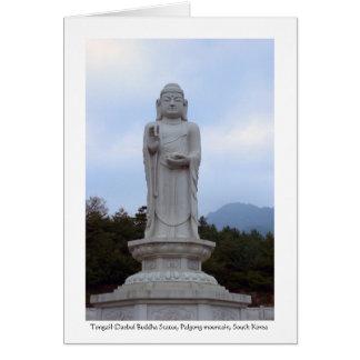 Tongail-Daebul Steinbuddha Statue, Südkorea Karte