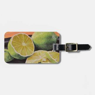 Tonisch und Limon Kofferanhänger