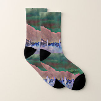 Tonto Berge in den abstrakten Unisexsocken Socken