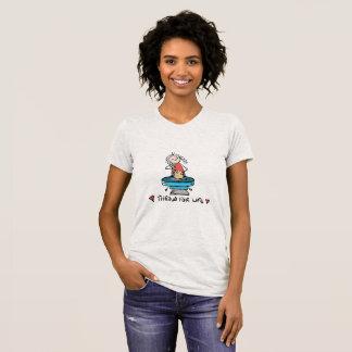 Tonwaren-T-Stück T-Shirt