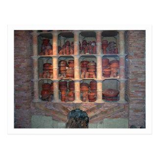 Tonwarenofen von Graufesenque, c.150 BC (Foto) Postkarte