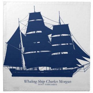 tony fernandes Whaler Charles Morgan Serviette