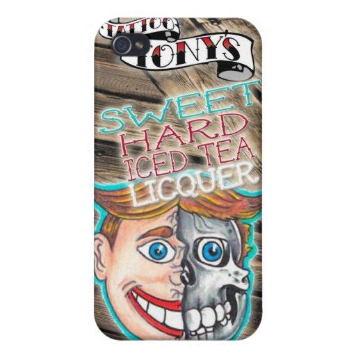 tony hartes Eistee der Tätowierung iPhone 4/4S Hülle