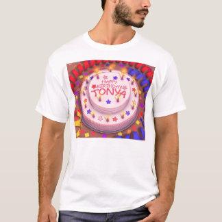 Tonyas Geburtstags-Kuchen T-Shirt