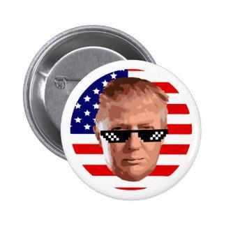 too donald trump runder button 5,7 cm