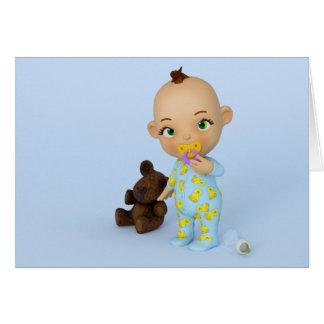 Toon-Baby-Karte