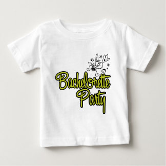ToonDoveBachelorettePartyYlw Baby T-shirt
